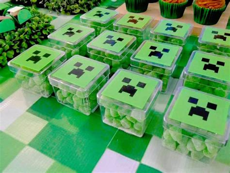 The Best Minecraft Party Food Ideas!  Brownie Bites Blog