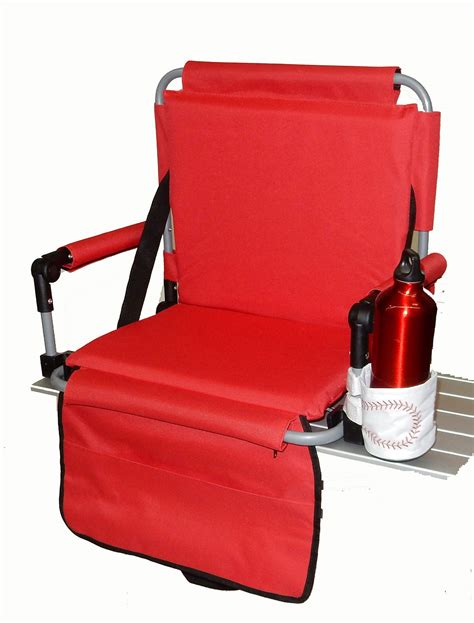 Deluxe Stadium Chairs For Bleachers by Pacific Import Deluxe Bleacher Bum Stadium Seat With
