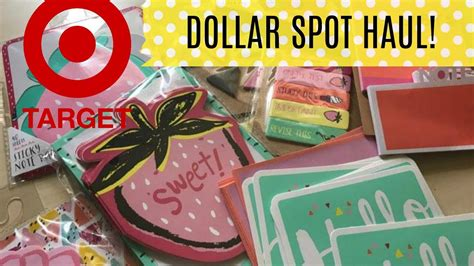 New Target Dollar Spot Haul🍦 Summer 🍓2017!!  Youtube