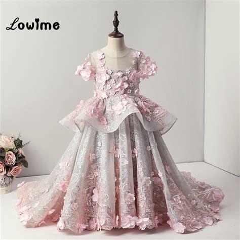 custom   flower communion dresses flower girl