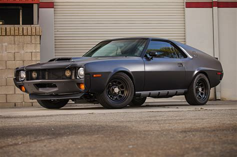 Homebuilt 1970 AMC AMX Goes Down The (Faster!) Road Less ...