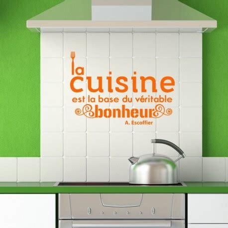 citations cuisine sticker citation cuisine de a escoffier pas cher