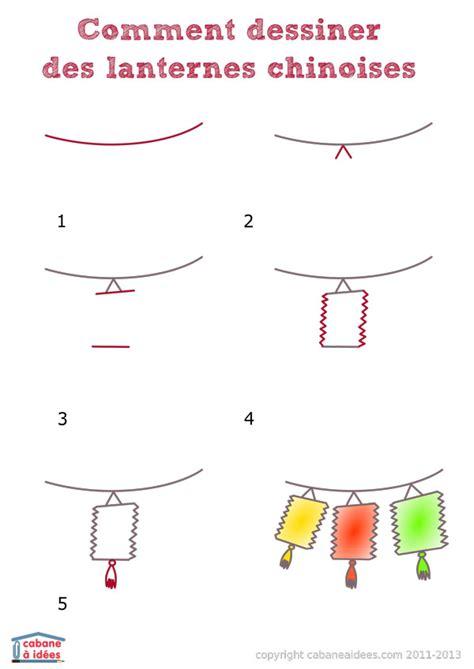comment dessiner des lanternes chinoises cabane 224 id 233 es
