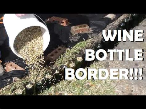 wine bottle border youtube