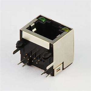 China Professional Manufacturer Rj45 Socket Connector With