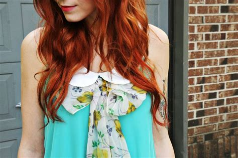tips  keeping red hair bright beauty red hair
