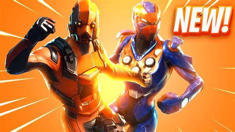 The New Skins In Fortnite Youtube