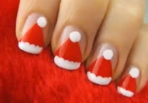 Simple easy christmas nail art designs ideas