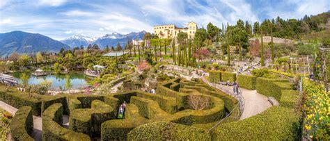 giardini terrazzati immagini spettacolo i giardini di sissi a merano il trentino dei