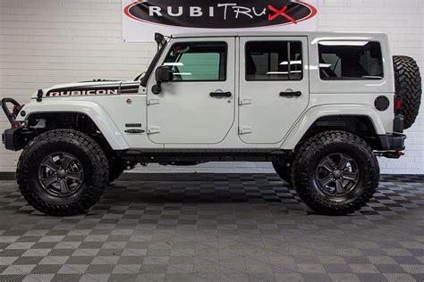 jeep jku rubicon 2018 jeep wrangler rubicon recon unlimited white