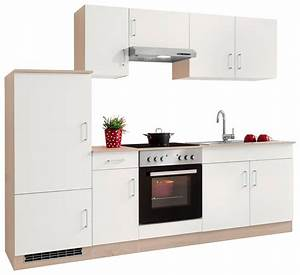 Küche 260 Cm : held m bel k chenzeile mit e ger ten melbourne breite 260 cm mit 28 mm starker arbeitsplatte ~ Indierocktalk.com Haus und Dekorationen