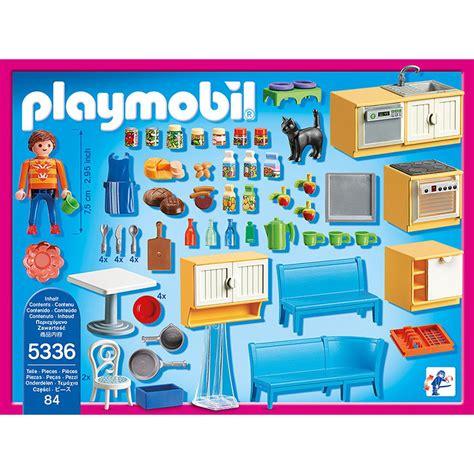 alerte en cuisine cuisine avec coin repas playmobil dollhouse 5336 la