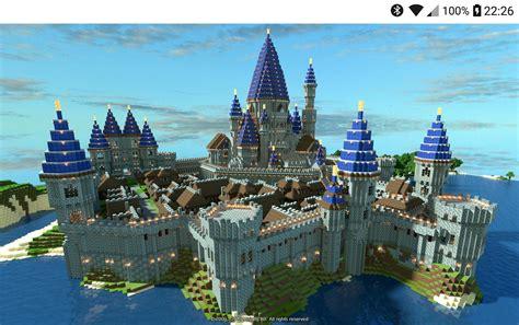 minecraft castle building ideas  android apk
