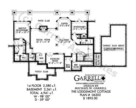 house plans with daylight basement alternate basement floor plan 1st level 3 bedroom house