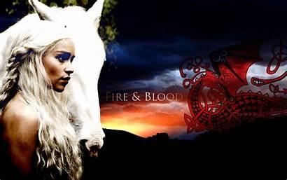 Targaryen Thrones Daenerys Khaleesi Desktop Fire Dragons