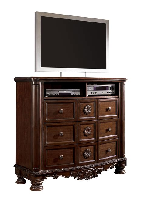 ashley furniture north shore media chest  classy home