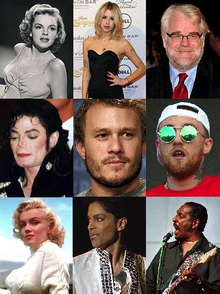 Famous People Who Died From Drugs