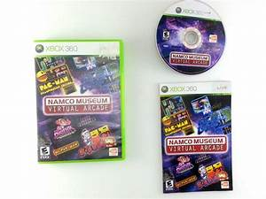 Namco Museum Virtual Arcade Game For Xbox 360 Complete