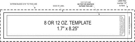 oz jar label size top label maker