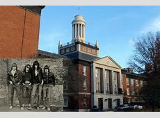 Ramones getting street in front of Forest Hills High