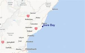 Gore Bay Surf Forecast And Surf Reports  Canterbury  New