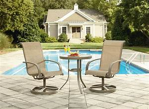 Garden Oasis Long Beach 3pc Bistro Set
