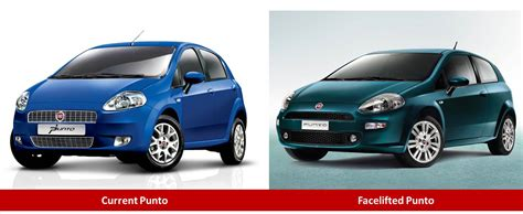 fiat punto 2014 fiat punto facelift caught testing launch in 2nd half of