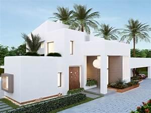 Javea Valls New Build Ibizan Style  Costa Blanca  Spain
