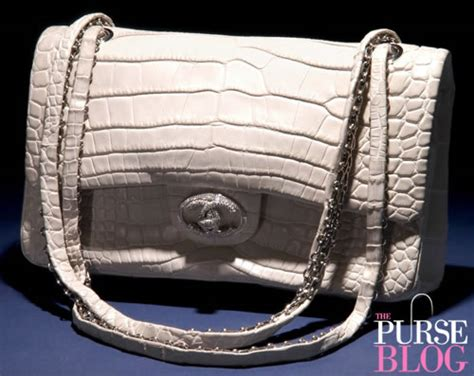 exclusive chanel diamond  classic bag purseblog