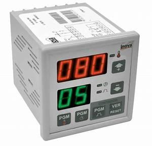 Termostato E Temporizador Digital Inova Inv J 85