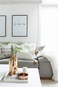 Deko Vasen Für Wohnzimmer : skandinavische wohnaccessoires in gold bringen ihre wohnung zum gl nzen ~ Bigdaddyawards.com Haus und Dekorationen