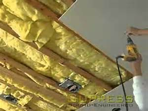 soundproofing a ceiling using resilient channels how to how to save money and do it
