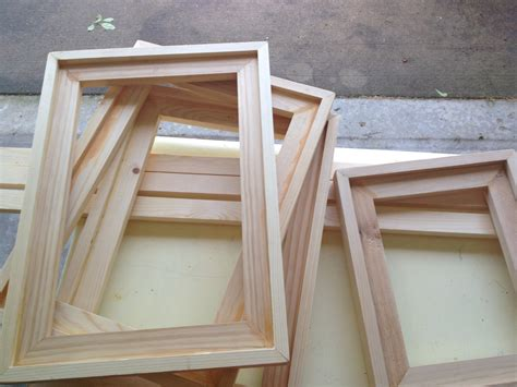 how to make barn wood picture frames diy easy barnwood frame and free printables