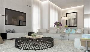 White living room decor scheme interior design ideas for White decor living room