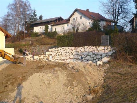 Gartenmauer Naturstein Kosten by Gartenmauer Selber Bauen Kosten Ostseesuche