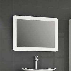 Miroir Lumineux Led : miroir lumineux led salle de bain de 80 95 x 60 cm ~ Edinachiropracticcenter.com Idées de Décoration
