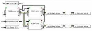 Led Rgb Amplifier  12vdc  4a  Ch