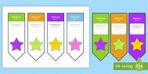 thank you editable bookmarks english mandarin chinese With thank you bookmark template