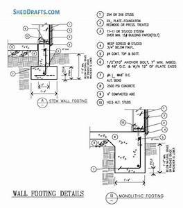 18 U00d722 Detached Garage Building Plans Blueprints For