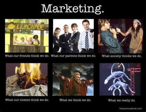 Marketing Meme - in a nutshell social pinterest funny advertising and marketing
