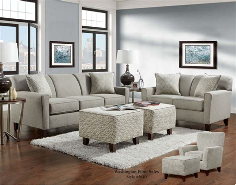 Loveseat And Chair Set by Slate Sofa And Loveseat Fabric Living Room
