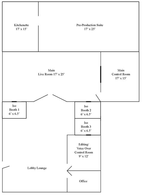 studio layout sound extractor layout creative sound recording in