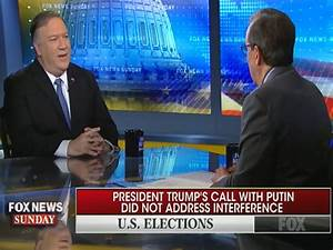 Mike Pompeo vs. Chris Wallace: Why Doesn't Trump Bring Up ...