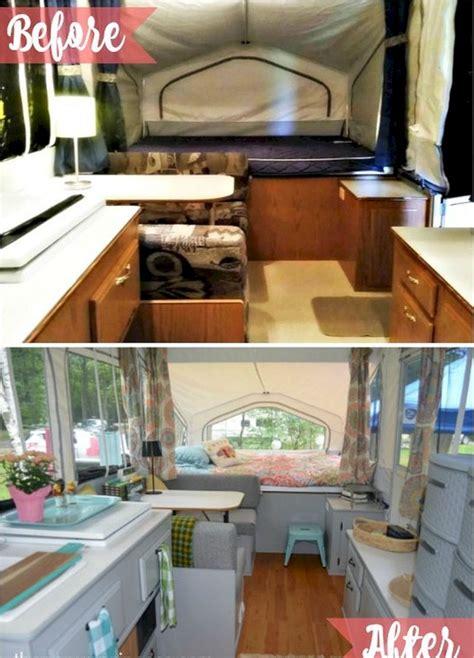 rv camper interior remodel ideas