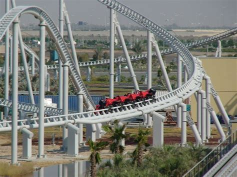 The park is situated under a 2,200,000 square foot roof making it the largest indoor amusement park in the world. Formula Rossa roller coaster in Ferrari World!! The worlds fastest rollercoster ...