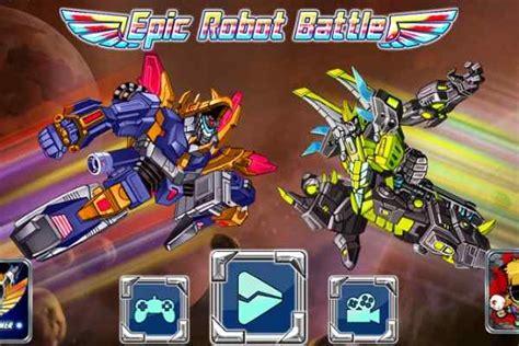 epic robot battle shooting games play