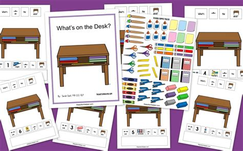 The Desk by What S On The Desk The Autism Helper