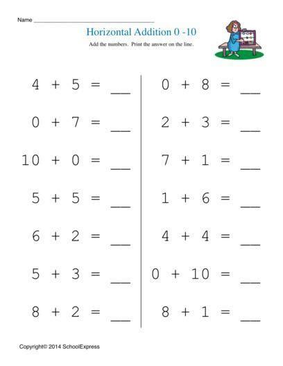 division worksheets horizontal horizontal addition worksheets horizontal addition of two digit numbers worksheets math free