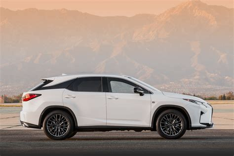 lexus new sports 2016 lexus rx 350 f sport and rx 450h show up in nyc