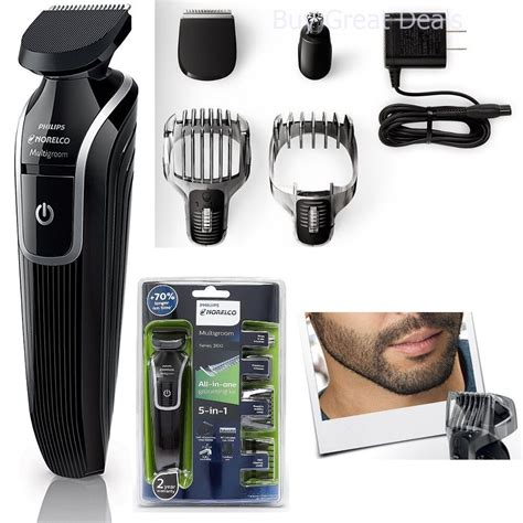 cordless hair trimmer clipper phillips men razor kit nose beard shaver